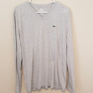 Lacoste long sleeve tshirt